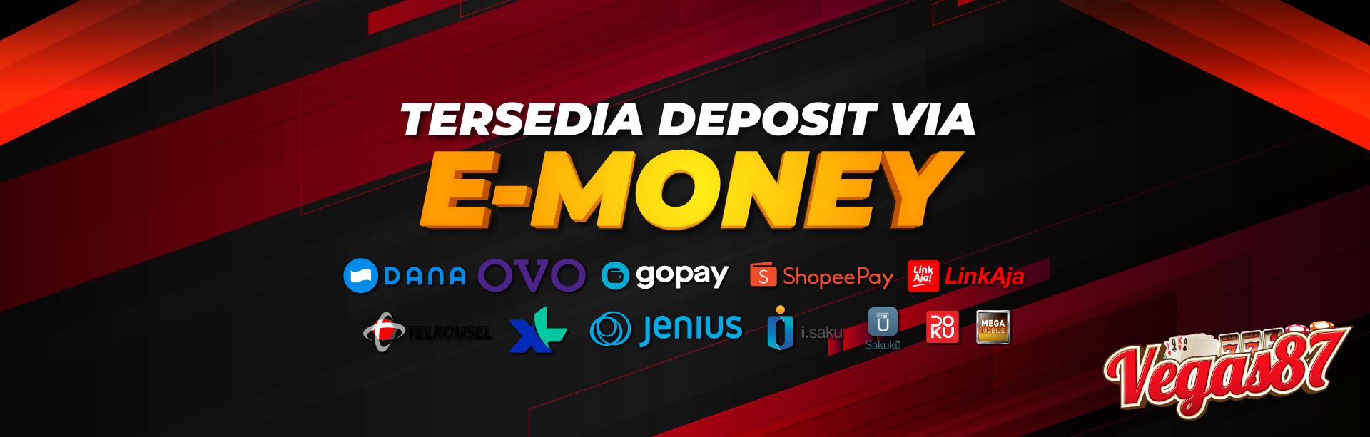 DEPOSIT E-MONEY